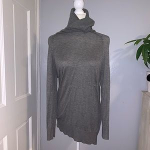 H&M big turtle neck tunic sweater
